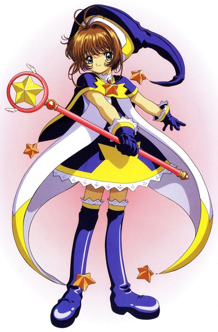 Sakura cardcaptor trajes estrella azul