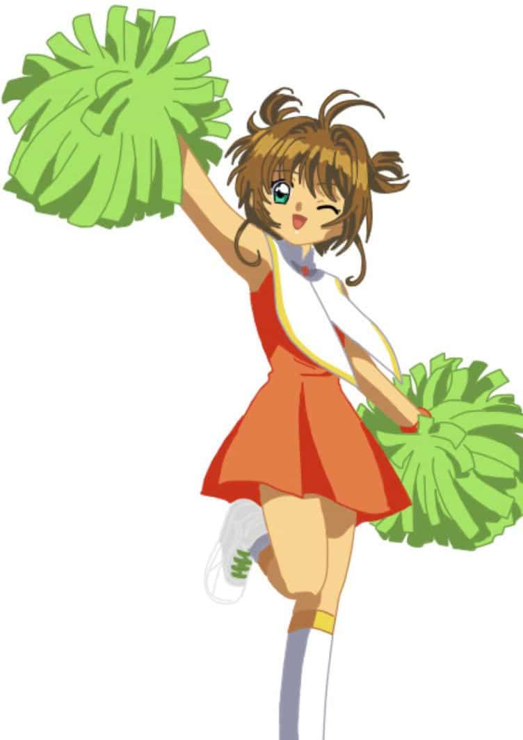 sakura kinomoto uniforme cheerleader porrista