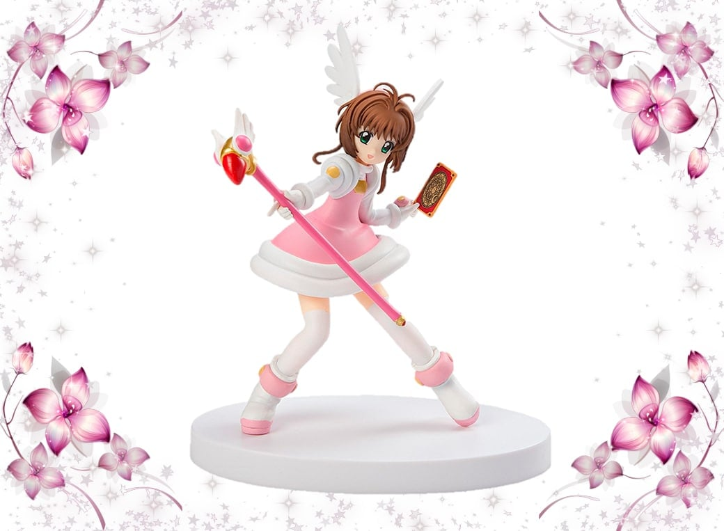 "FURYU 6.7"" CARDCAPTOR SAKURA: SAKURA KINOMOTO SPECIAL FIGURE SERIES ""CHEERFUL PINK"""
