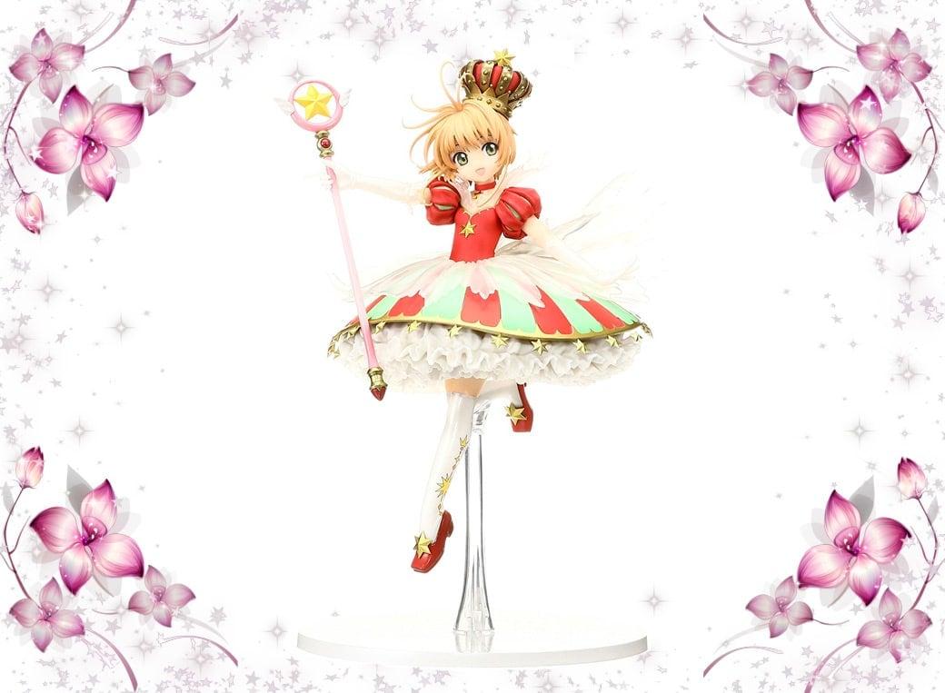 Sakura Kinomoto Cardcaptor Stars Bless You Figure