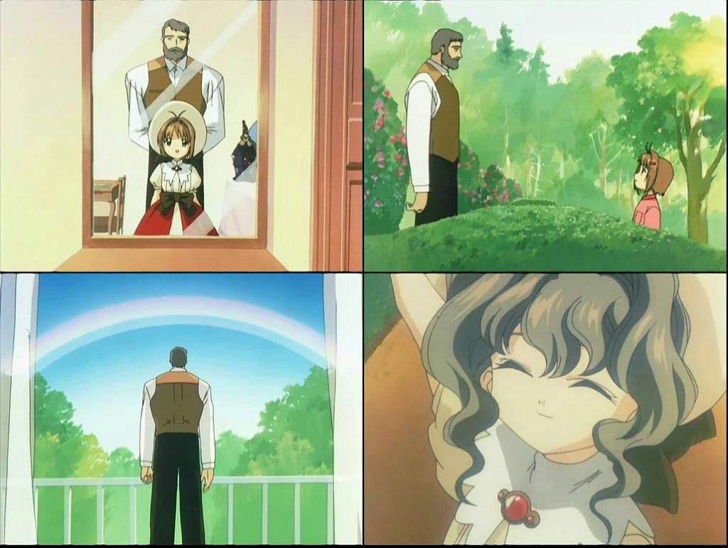 sakura y su abuelo